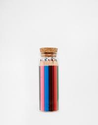 Набор цветных карандашей Kikkerland - Мульти