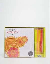 Раскраска и набор карандашей Vive Le Color! Vitality - Мульти Books