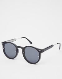 Черные круглые солнцезащитные очки Spitfire Post Punk - Черный