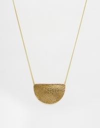 Ожерелье с полумесяцем Made - Золотой