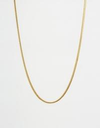 Ожерелье-цепочка Mister - Золотой