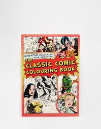 Раскраска-комикс Comic Strip Colouring Book - Мульти Books