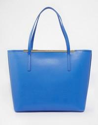 Сумка-шоппер в комплекте с кошельком Ted Baker - Светло-голубой