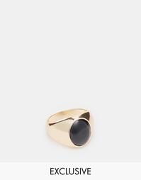 Золотое кольцо с камнем Chained & Able - Золотой