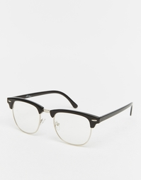 Черные солнцезащитные очки в стиле ретро Jeepers Peepers Jay - Черный