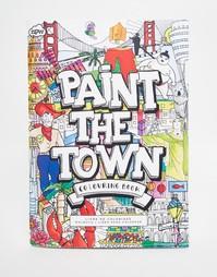 Книга-раскраска NPW Paint The Town - Мульти