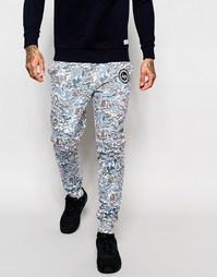 Штаны для бега камуфляжной расцветки Hype - Камуфляжный
