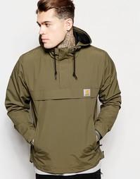 Куртка-пуловер с капюшоном Carhartt WIP Nimbus - Зеленый