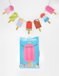 Флажки Doiy Yummy Popsicle - Мульти