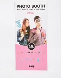 Набор аксессуаров для фотокабины Doiy Love - Мульти