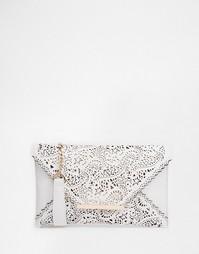 Клатч с вырезным узором Yoki Fashion - Белый
