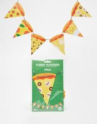 Флажки Doiy Yummy Pizza - Мульти