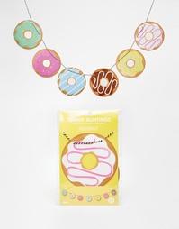 Флажки Doiy Yummy Doughnut - Мульти