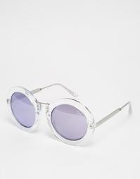 Солнцезащитные очки в круглой оправе Quay Australia Life in Xanadu