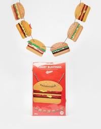 Флажки-гамбургеры Doiy Yummy - Мульти