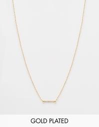 Ожерелье с подвеской Luv AJ - Золотой