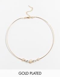 Жемчужное ожерелье-воротник Neve & Eve