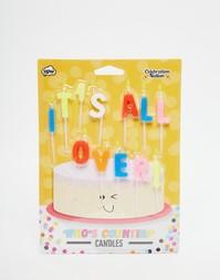 Свечи для торта NPW It's All Over - Мульти