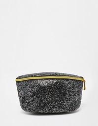 Блестящая сумка-кошелек на пояс Mi-Pac