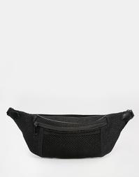 Сетчатая сумка-кошелек на пояс ASOS - Черный
