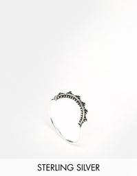 Серебряное фестивальное кольцо с полумесяцем ASOS - Покрытие серебром