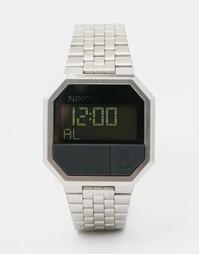 Цифровые часы Nixon Re-Run A158 - Серебряный