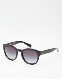 Круглые солнцезащитные очки с металлической отделкой Dolce & Gabbana