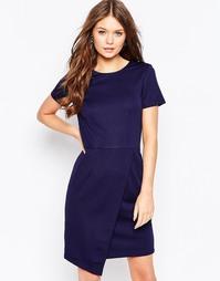 Платье с асимметричной юбкой Poppy Lux Valerina - Темно-синий