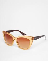 Солнцезащитные очки Quay - Золотой