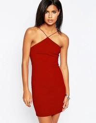 Платье-майка Glamorous - Красно-бурый