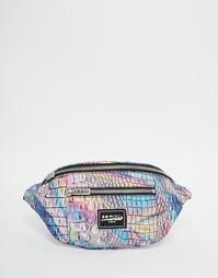 Сумка-кошелек на пояс с голографическим принтом Jaded London - Мульти