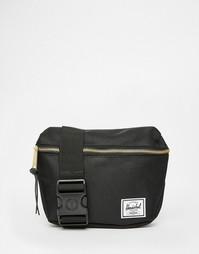 Черная сумка-кошелек на пояс Herschel Supply Co - Черный 00001