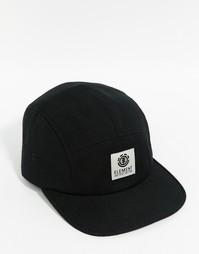 5-панельная кепка Element Reign - Черный
