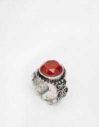 Фестивальное кольцо ASOS Badlands Sun - Красный