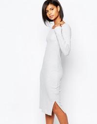 Платье миди в рубчик Vero Moda - Серый