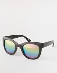 Солнцезащитные очки с радужными зеркальными линзами Vans Catch Ya Late