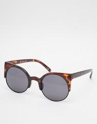 Круглые солнцезащитные очки кошачий глаз Vans Halls & Woods