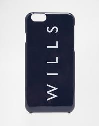 Чехол для iPhone 6 Jack Wills Haddon - Темно-синий