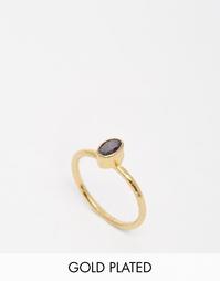 Кольцо с полудрагоценным камнем Ottoman Hands - Золотой