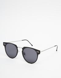 Черные круглые солнцезащитные очки Spitfire Cyber - Черный