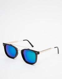 Квадратные солнцезащитные очки в черной оправе Spitfire Mainstream2