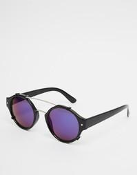 Круглые солнцезащитные очки с зеркальными стеклами Spitfire Flick