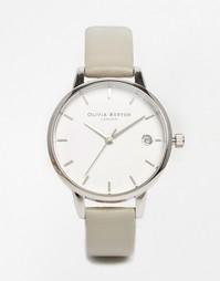 Серые часы со средним циферблатом Olivia Burton Dandy - Серый