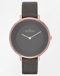 Серые часы Skagen SKW2216 Ditte - Серый