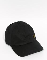 Бейсболка с логотипом Lyle & Scott - Черный
