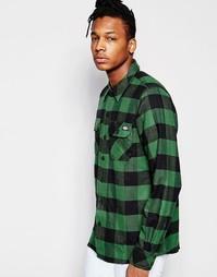 Клетчатая рубашка классического кроя с карманами спереди Dickies