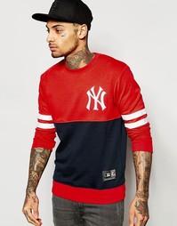 Свитшот Majestic Yankees - Красный