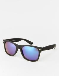 Квадратные солнцезащитные очки с блестящими линзами Jeepers Peepers