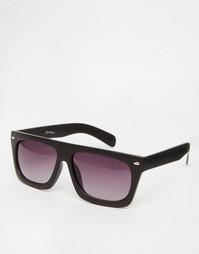 Солнцезащитные очки с плоским верхом Jeepers Peepers Ray - Черный