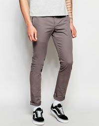 Рабочие брюки чиносы зауженного кроя Dickies 803 - Серый